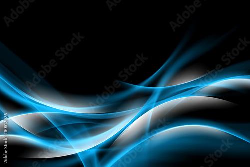 streszczenie-niebieskie-blyszczace-tlo-projektu