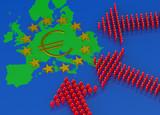 European Migrant Crisis concept poster