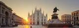 Duomo na wschodzie słońca