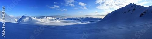 Arctic spring in south Spitsbergen.