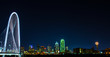 Dallas Skyline in color