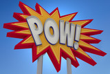 POW! Sound Effect Neon Sign