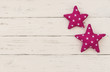 Baby Karte Babyparty Pink Sterne