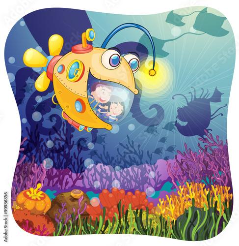 Die geheimnisvolle Welt des Unterwasserkönigreichs