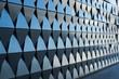 triangular shaped wall design