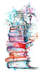 reading city © okalinichenko