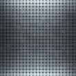 Shiny metallic texture pattern, vector background