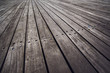 Rustic Wooden Floor Boardwalk in Perspective