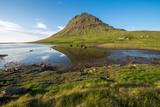 Kirkjufell mount , Snaefellsnes peninsula, Iceland poster