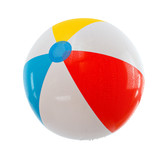Fototapety multicolored beach ball. Isolation.series of images