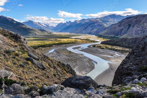 Valley, Fitz Roy, El Chalten, Argentina