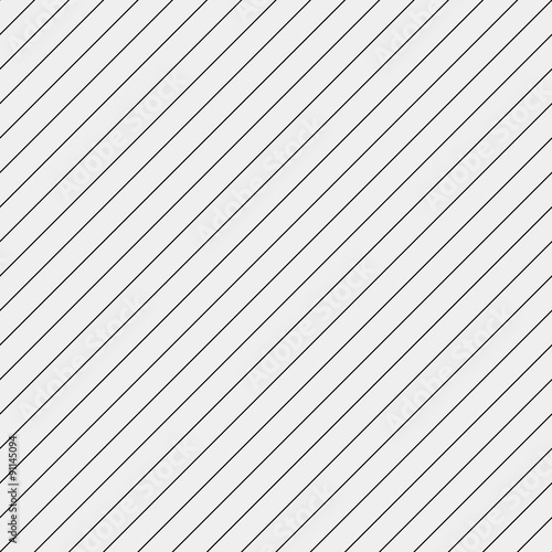 Vector seamless pattern. Modern stylish texture. Repeating geometric tiles with diagonal lines - stock vector - 91145094