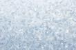 ice pattern on frozen window christmas background
