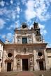 Постер, плакат: Abbey of St Giovanni Evangelista Piazzale San Giovanni in Parma Italy