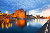 Bydgoszcz widok miasta o zmierzchu - 91189695