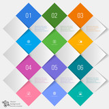 Fototapety Vector Background #Grid Layout Material