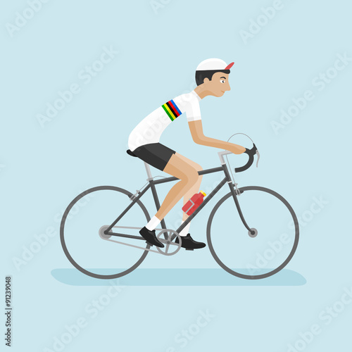 Poster Cyclist World Champion 002