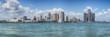 Detroit skyline panorama