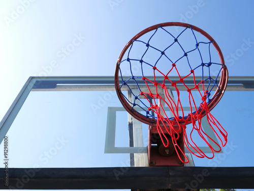 Poster Basketball Net