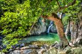Fototapety Waterfalls in Samothraki