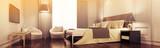 Elegante Suite im Hotel