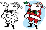 Santa Claus presents