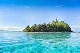 Fototapety Piccola isola deserta Bora Bora