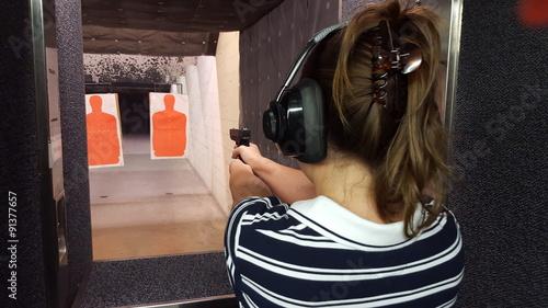Zdjęcia na płótnie, fototapety, obrazy : Shooting practice 1