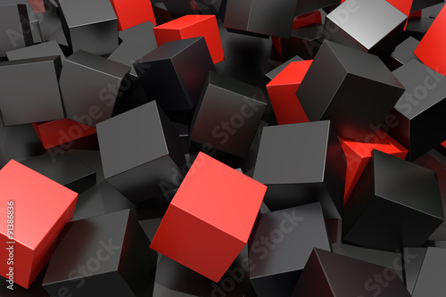 Fototapety, obrazy : colored cubes