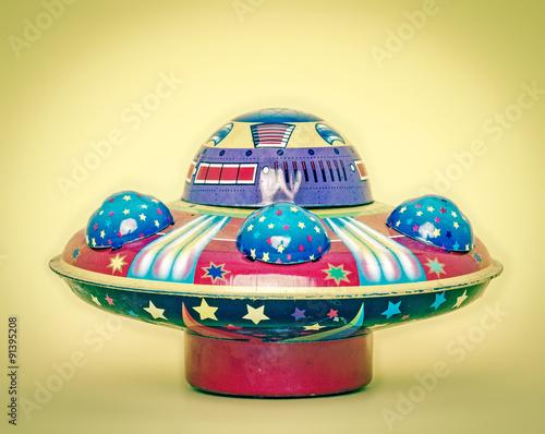 Foto op Canvas ufo toy
