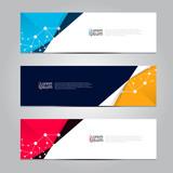 Fototapety Vector design Banner background, illustration EPS10
