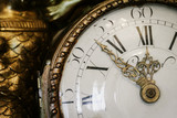 Fototapety Antique clock with roman numerals