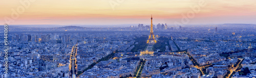 The Eiffel tower is the most visited monument of France.