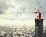 Fototapety Santa Claus is coming to town!
