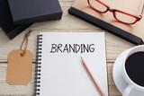 Fototapety Branding concept