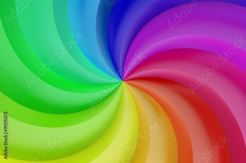 Abstract colors spiral background © alexlmx