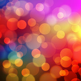 Fototapety Abstract Golden Holiday Background bokeh effect