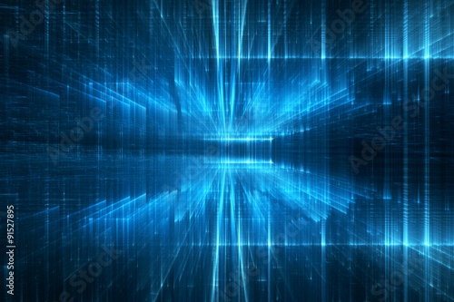 Poster Digital technology abstract background