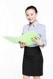 shrewd business woman poster