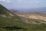 rift valley view from the hills of Nairobi poster
