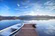 Boot am Alpensee