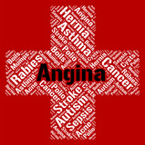 Angina Word Means Congestive Heart Failure And Ailment poster