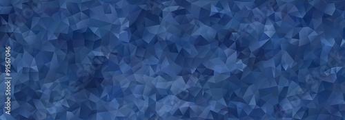 abstrakcyjne mozaiki niebieskie trójkąty gradientowe
