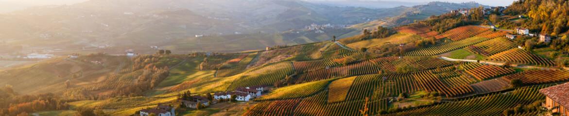 Fototapeta jesienny widok z lotu ptaka panorama