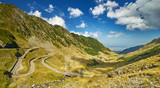 Mountain Winding Highway -- Transfagarasan in Romania
