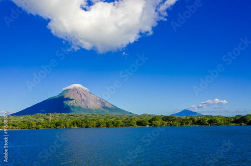 Island Ometepe with vulcano in Nicaragua