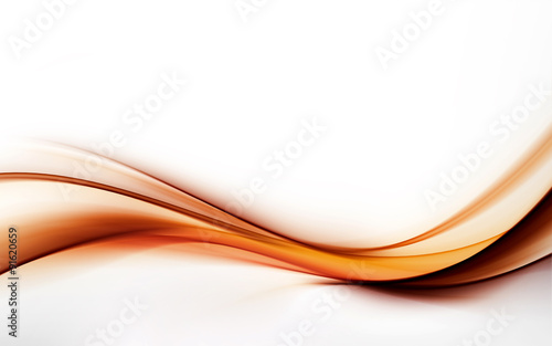 elegant abstract orange wave