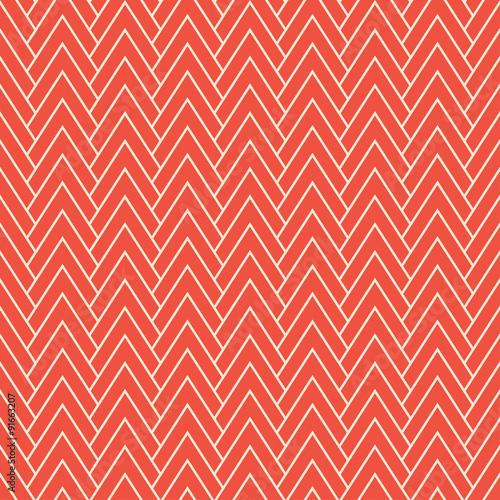 czerwony wzór chevron
