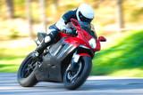 Fototapety Motorcycle rider