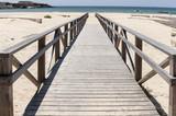 Hermosas playas de la costa de Tarifa en Andalucía